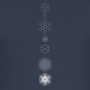 heilige geometrie - slim fit T-shirt