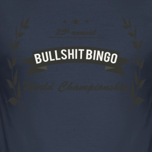 Bullshit Bingo World Championship - Männer Slim Fit T-Shirt