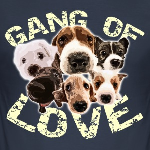 Gang of Love - Tee shirt près du corps Homme