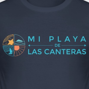 My beach of Las Canteras - Men's Slim Fit T-Shirt