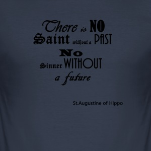 There_is_NO - Men's Slim Fit T-Shirt