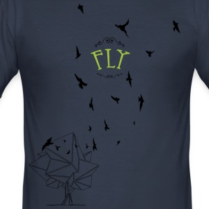 The early bird - Men's Slim Fit T-Shirt