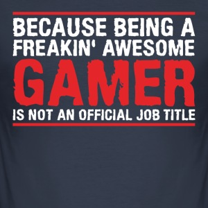 GAMER - Men's Slim Fit T-Shirt