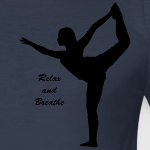 Relax to Breathe - Tee shirt près du corps Homme