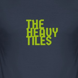 the heavy tiles green collection - Men's Slim Fit T-Shirt