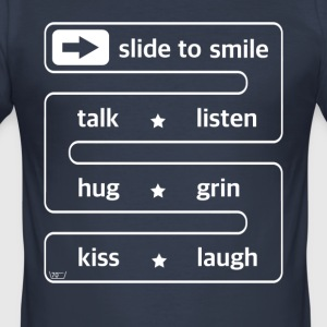 dias til at smile ... - Herre Slim Fit T-Shirt