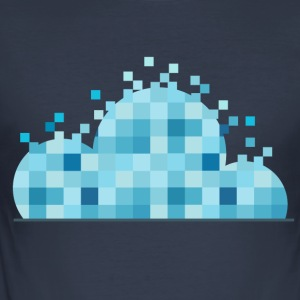 Cloudy Scanner - slim fit T-shirt