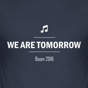 We Are Tomorrow White - Tee shirt près du corps Homme