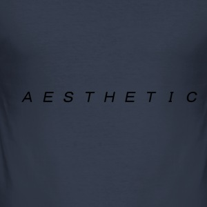 A T E S H E T I C v1 - Men's Slim Fit T-Shirt