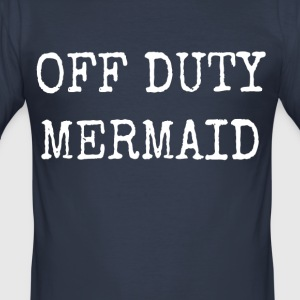 OFF DUTY HAVFRUE - Herre Slim Fit T-Shirt