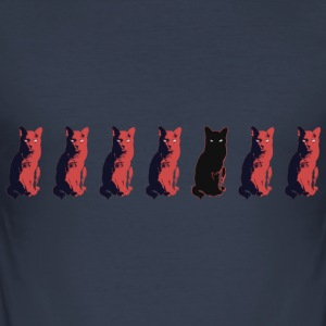 KATZE_1 - Slim Fit T-skjorte for menn