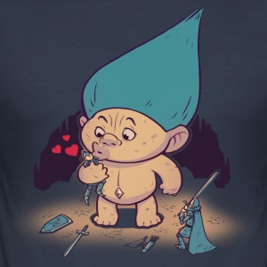 Troll Kram - Slim Fit T-shirt herr