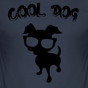 COOL DOG ​​- 2 - Männer Slim Fit T-Shirt