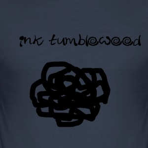 Ink Tumbleweed - Men's Slim Fit T-Shirt