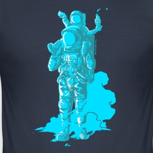 Onwards, Space Dad! - Men's Slim Fit T-Shirt