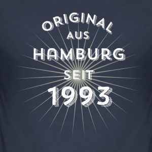 Original from Hamburg since 1993 - Men's Slim Fit T-Shirt