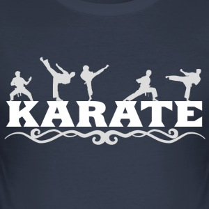 karate - Herre Slim Fit T-Shirt