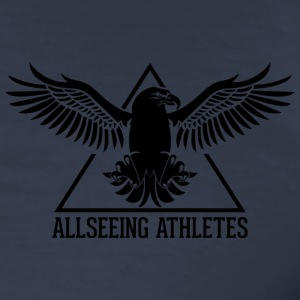 ALLSEEING Athlet - Männer Slim Fit T-Shirt