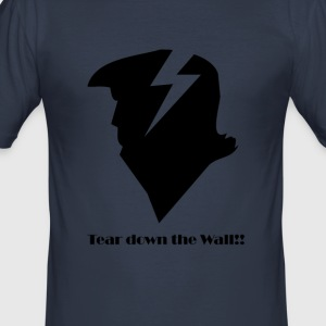 Trump Muur Lightningbolt - slim fit T-shirt