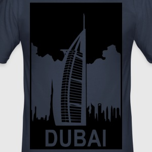 DUBAI - Slim Fit T-skjorte for menn