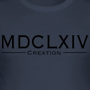 MDCLXIVcreation - Herre Slim Fit T-Shirt