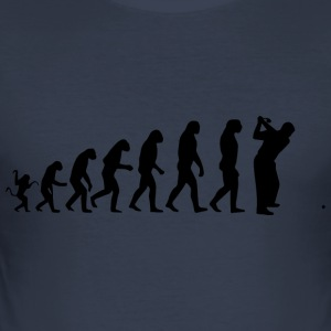 golf evolution - Slim Fit T-shirt herr