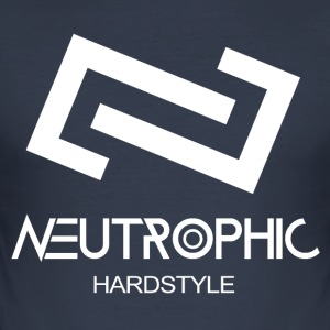 Neutrophic Hardstyle - Männer Slim Fit T-Shirt
