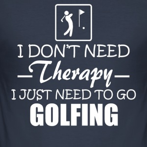 golf - Slim Fit T-shirt herr