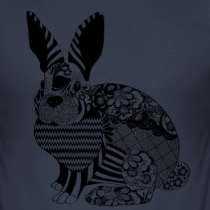Carlos the Rabbit - slim fit T-shirt