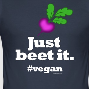 Bare Beet Det - Slim Fit T-skjorte for menn