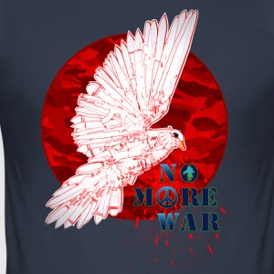 No More War Now - slim fit T-shirt