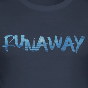Runaway - Slim Fit T-skjorte for menn