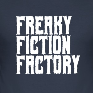 Freaky Fiction usine Offical Logo Blanc - Tee shirt près du corps Homme