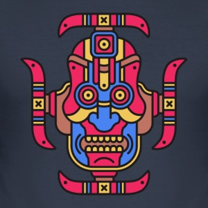 tribal Totem - Slim Fit T-skjorte for menn