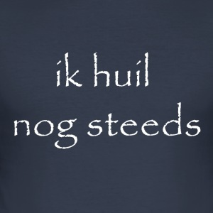 ik huil nog steeds wit - slim fit T-shirt