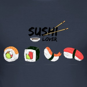 Sushi Lover - Men's Slim Fit T-Shirt