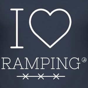I love Ramping - Men's Slim Fit T-Shirt
