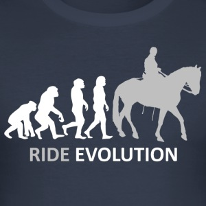++ ++ Ride Evolution - Men's Slim Fit T-Shirt