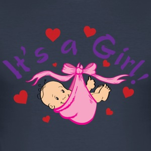 It's a Girl - slim fit T-shirt