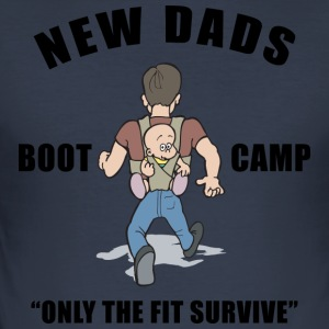 New Dad Boot Camp Only The Fit overleve - Slim Fit T-skjorte for menn