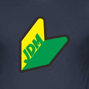JDM Fans Logo! - Men's Slim Fit T-Shirt