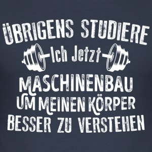 Maschine - Männer Slim Fit T-Shirt