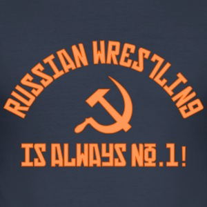 Russisches Wrestling Nr. 1 - Männer Slim Fit T-Shirt