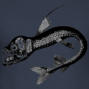 deep-sea fish - Men's Slim Fit T-Shirt