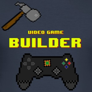 Video Game Builder! - Men's Slim Fit T-Shirt