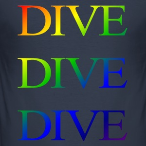 divedivedivebali - Men's Slim Fit T-Shirt