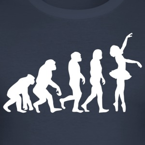 ++BALLETT EVOLUTION++ - Männer Slim Fit T-Shirt