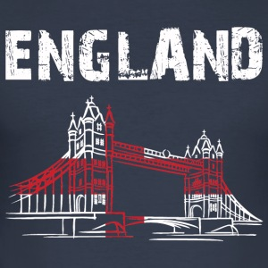 Nation-Design England Tower Bridge - Men's Slim Fit T-Shirt