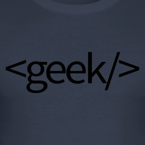 geek - slim fit T-shirt