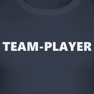 Teamplayer 3 (2172) - Männer Slim Fit T-Shirt